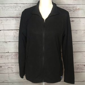 L.L. Bean black fleece jacket, size M